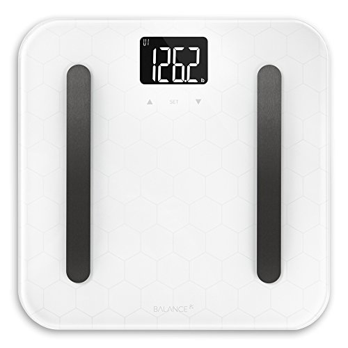 Weight Gurus Digital Bathroom Scale, Large Display, Precision Body Weight Measurement, Accurate to 0.1 of a Pound. Batteries Included. (Silver2)