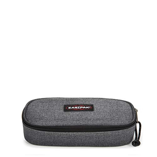 Eastpak Oval Single Astuccio, 22 Cm, Grigio (Black Denim)