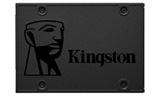 Kingston 240GB A400 SATA 3 2.5' Internal SSD SA400S37/240G - HDD Replacement for Increase Performance