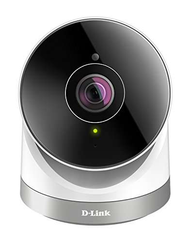 D-Link DCS-2670L Videocamera di Sorveglianza da Esterno, Panoramica 180°, Full HD, Slot per Micro SD, Colori: Bianco/ Nero