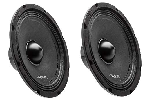 (2) Skar Audio Npx8-4 8' 350 Watt 4-Ohm Neodymium Pro Audio MID-Range Loudspeaker - 2 Speakers