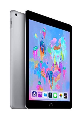 Apple iPad 9,7 (6th Gen) 32GB Wi-Fi + Cellular - Grigio Siderale - Sbloccato (Ricondizionato)