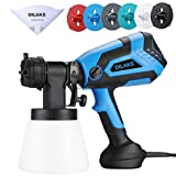 DILAKS 750W Paint Sprayer, HVLP Home Sprayer Gun with 1000ml Container, with 6 Nozzle Size for...