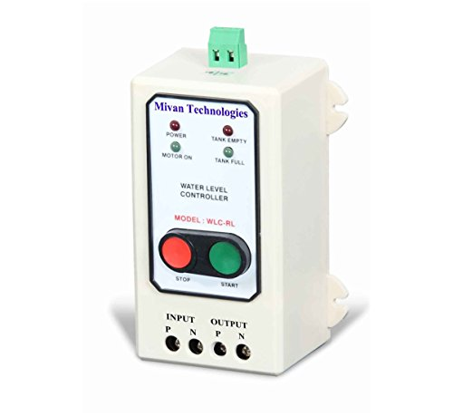 Mivan Technologies Manual Start and AUTO Stop Water Level Controller, It Start Motor by Pressing...