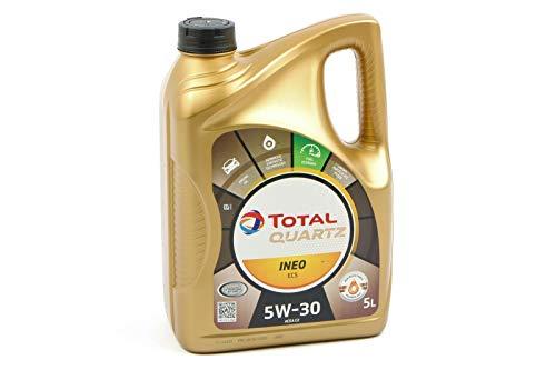 Total Quartz Ineo ECS 5W30-5L Motorenöl, 5L