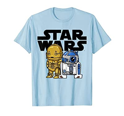 Officially Licensed Star Wars T-Shirt 15STRW944 Lightweight, Classic fit, Double-needle sleeve and bottom hem