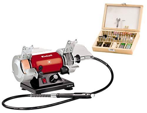 Einhell XG 75 Kit TC-BG 181 TH-MG E Schleif-und Gravur-Werkzeug 135 Watt, Spannhülsen Ø 0,5/1,6/2,4/3,2 mm, Softgriff