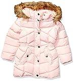 Steve Madden Girls Girls' Big Long Outerwear Jacket (More Styles Available), Medium Length Two Blush, 14/16