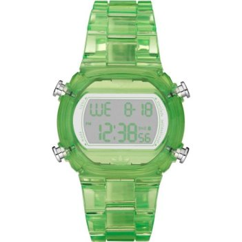 Adidas Nylon Candy Digital Green Dial Unisex watch #ADH6508