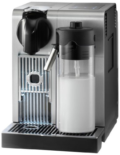 Nespresso Lattissima Pro Original Espresso Machine with Milk Frother by De'Longhi, 10.8' L x 7.6' W x 13' H, Silver