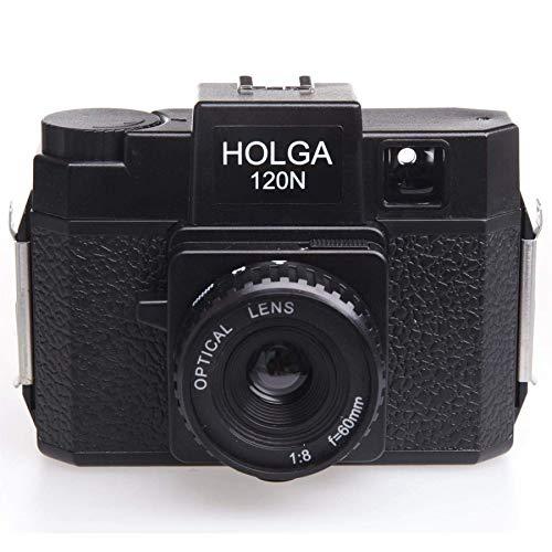 HOLGA ホルガ フィルムカメラ H- 120N ブラック ブローニーフィル ム使用
