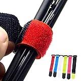 KANTREER Scratch pour Canne à pêche [Lot de 6] Accessoire Velcro pour...