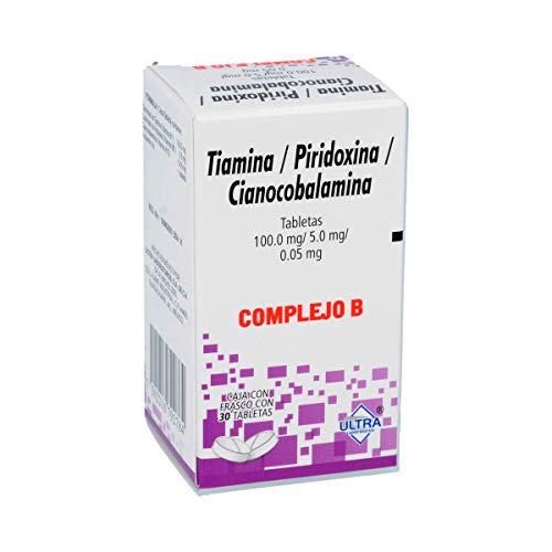 Complejo B Tabletas, 30 Piezas