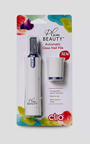 Plum Beauty Battery Operated Automatic Glass Nail File