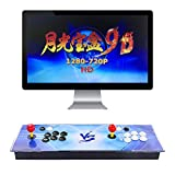 TAPDRA Pandora's Box 9D Multiplayer Joystick and Buttons Arcade Console, Arcade Games Machines for Home, 2700 Retro Classic Video Games All in One Newest System with Advanced CPU Compatible with HDMI