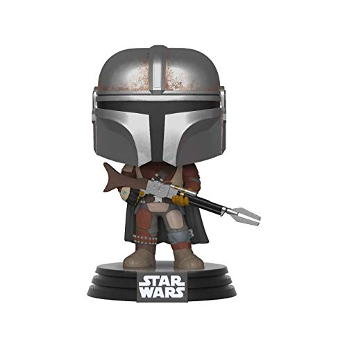 Funko Pop Bobble Vinyle: Star Wars The Mandalorian Figura Coleccionable, Multicolor, Talla Única...