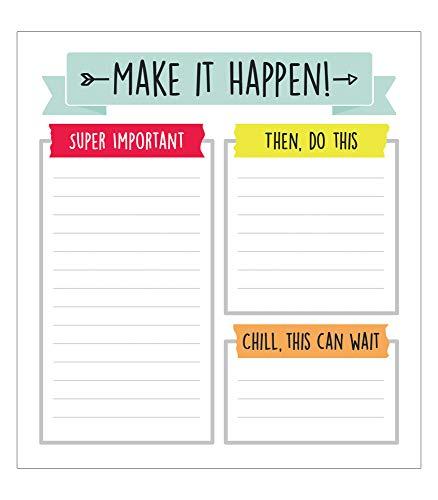 Carson Dellosa Aim High To Do List Notepad—5.75' x 6.25'...