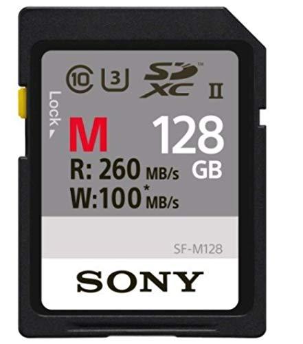 Sony SDXC 128GB UHS-II 260MB/s 4K対応 U3 Class10 SF-M128 ソニー 並行輸入品