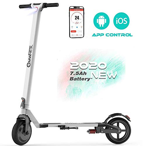 Magicelec Electric Scooter for Adults: Folding Electric Scooter with 8.5' Air Filled Tires Shock Absorbers, 15.5 ML Long-Range Battery, 14 MPH, 3 Seconds Folding