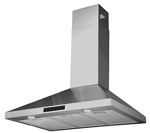 2. Kitchen Bath Collection Wall-Mounted Kitchen Range Hood