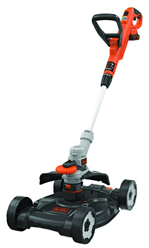 BLACK+DECKER STC1820CM-QW 3-in-1 Tagliabordi, Bordatura e Rasaerba a Batteria Litio 18 V - 2.0 Ah,...