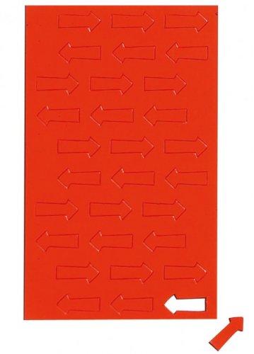 Rot Magnetsymbole Pfeil, Magnet für Planungstafel, Whiteboard, Rot