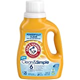Arm & Hammer Clean & Simple Liquid Laundry Detergent, 43.75 Fl Ounce
