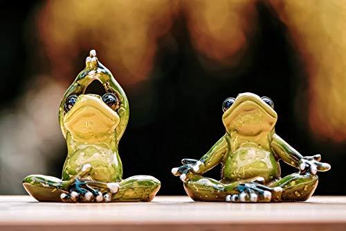 N/V Frog Yoga Puzzle, Puzzle per Adulti, Puzzle per Famiglia, Puzzle in Legno, Giochi Educativi,...