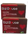 SANTE VERTE LEVURE DE RIZ ROUGE + formule renforcee 60cps - Lot de 2 Boites de...