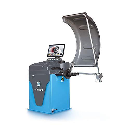 Auswuchtmaschine Reifen vollautomatisch, mit Messarm, pneumatische Felgenspannung, LCD-Monitor, 230 V, 10-32 Zoll RP-U3500PN-230V