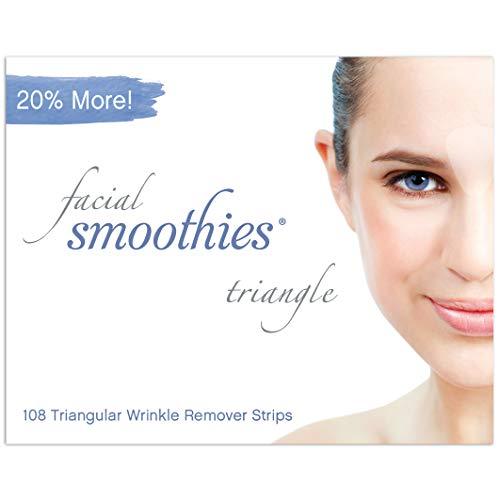 Facial Smoothies Parches Antiarrugas Forma Triangular, 108 u