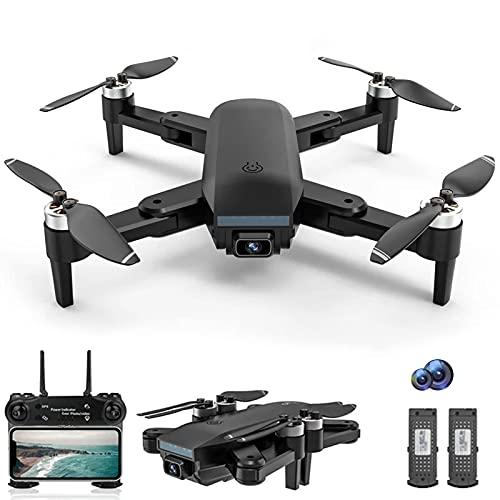 J-Clock Droni per Adulti Drone con Fotocamera 4K per Adulti, Motore Brushless Trasmissione WiFi Drone Video Live FPV, RC Quadricottero Gamma di Controllo 1000m
