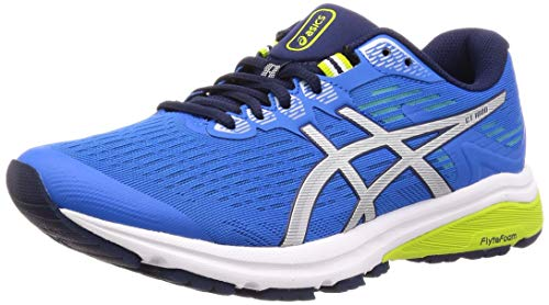 ASICS Men's Gt-1000 8 Running Shoes, Blue (Electric Blue/Silver 401), 11 UK