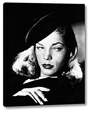 Title: The Big Sleep - Lauren Bacall - Artist: Hollywood Photo Archive - Orientation: Vertical Museum quality canvas print created with ultra-precision print technology and fade-resistant archival inks on artist grade acid-free canvas Made in the USA...