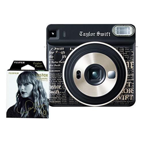 【セット】フジフイルム インスタントカメラ チェキスクエア instax SQUARE SQ6 Taylor Swift Edition + テ...