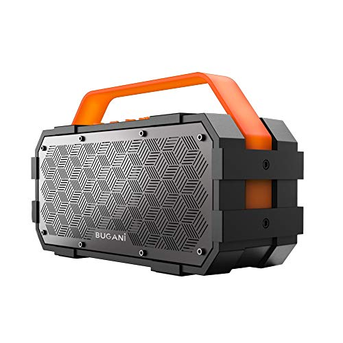 Bluetooth Speaker, Bugani M90 Portable Bluetooth Speaker with 30W Stereo Sound and Deep Bass,...