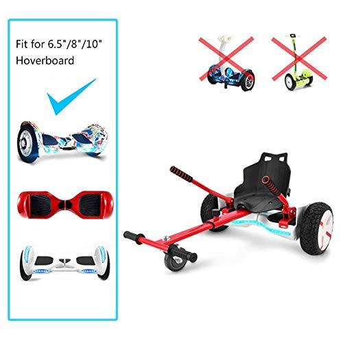 Elitte Go-Kart a Pedali, Sospensioni per Hoverboard Kart per 6.5'8' 8.5'10' Scooter di Bilanciamento...