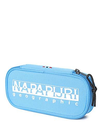 Napapijri Happy Pen Organizer Astuccio, 0 cm, Blu francese (Blu) - N0YID4