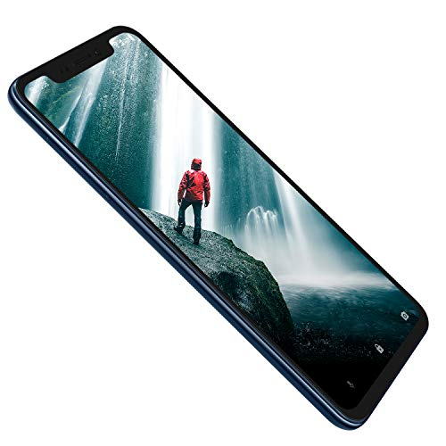 ZTE Smartphone Axon 9 Pro (15, 77 cm (6, 21 Zoll) AMOLED Display, 128 GB interner Speicher und 6 GB RAM, 20 MP Frontkamera, Dual-SIM, NFC, IP68, Android 8.1) blau