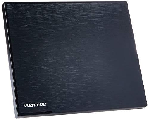 Multilaser RE213 Antena Interna Amplificada de Tv Analógica e Digital, 4 Em 1 Quadrada
