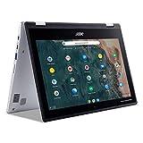 Acer Chromebook Spin 311 Convertible Laptop, Intel Celeron N4020, 11.6' HD Touch, 4GB LPDDR4, 32GB eMMC, Gigabit Wi-Fi 5, Bluetooth 5.0, Google Chrome, CP311-2H-C679