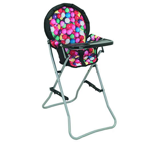 Mommy & Me Doll High Chair Fits 18 Inch American Girl Doll, Gumball