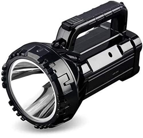 Crasts CT-DP-7045B Portable Rechargeable High Brightness Flashlight LED Torch Light, Brightness Adjustment Led Torch Light kisan Torch Search Light (Black)