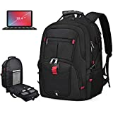 Laptop Backpack 18.4 Inch Waterproof Extra Large TSA Travel Backpack Anti Theft College School...