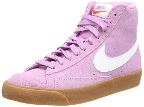 Nike Blazer Mid '77, Zapatillas de Gimnasio Mujer, Beyond Pink White Gum Med Brown, 37.5 EU