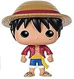 Funko 5305 One Piece 5305 POP Vinyl Monkey D. Luffy Figure, Multi