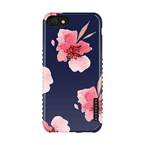 iPhone 8 & iPhone 7 & iPhone SE [2020 Released] Case Floral, Akna Sili-Tastic Series High Impact Silicon Cover for iPhone 7/8 & iPhone SE [2020 Released] (720-U.S)