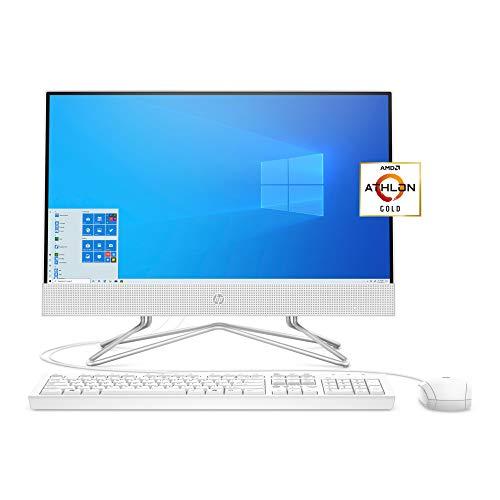 HP 22 All-in-One PC, AMD Athlon Gold 3150U...