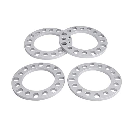 dynofit 12mm 8x165.1 8x170 8x180 Wheel Spacers for F-250 E-350, Ram 2500 Ram 3500, Express 3500 K3500 Silverado 2500 Suburban 2500, Sierra 2500HD 3500HD and More 8Lug Tuner Wheels
