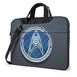 Star Trek Laptop Tote Bag Tablet Maletín Ultra Portátil Computadora Un Hombro A Prueba De Golpes Bolsas Portátil